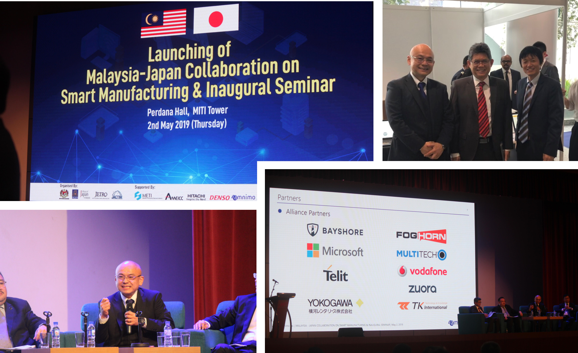 「LAUNCHING OF MALAYSIA - JAPAN COLLABORATION ON SMART MANUFACTURING & INAUGURAL SEMINAR